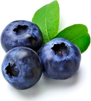 three-blueberries